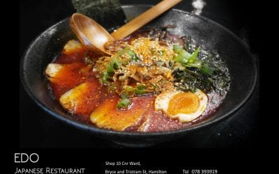Japanese Restaurant Edo in Hamilton